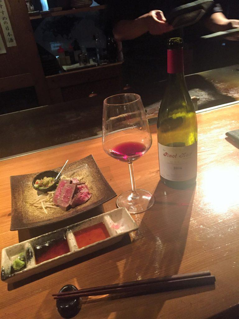 今日の社長のひとこま。。。~ヒレ肉とワイン~